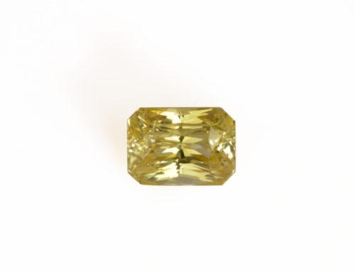 Yellow Sapphire  No Heat  9.20ct